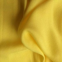 plain dyed solid color rayon 100% viscose crepe fabric for clothing