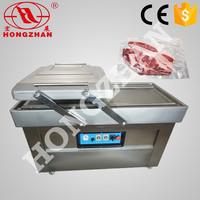 Hot sale DZ 500 Hongzhan stianless steel Double chamber vacuum rice bags sealing machine