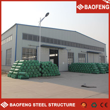 insulated low cost prefabricated living prefab car showroom structure warehouse