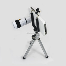 With Tripod And Case 8x Telescope Mobile Phone camera Zoom Lens For Iphone