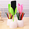 Fashionable rounded pen/pencil holder