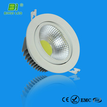 TUV,CE,RoHS Approvaled erp test report cob led downlight 3w