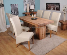 Modern large Solid wood Dining Table For Restaurant And General Use