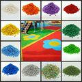 Colorido gránulos de epdm& gránulos de caucho epdm/miga de goma para campos de deportes- g- s- 0812