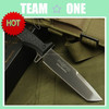 "Trakker Sniper Black 11"" Overall Knife W/ Nylon Sheath"