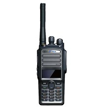 Receive&send message ce approved gps optional digital portable walkie talkie