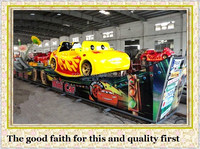 factory direct rides amusement park game mini car with tracks