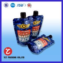 sunflower oil plastic pouch bag/coconut oil