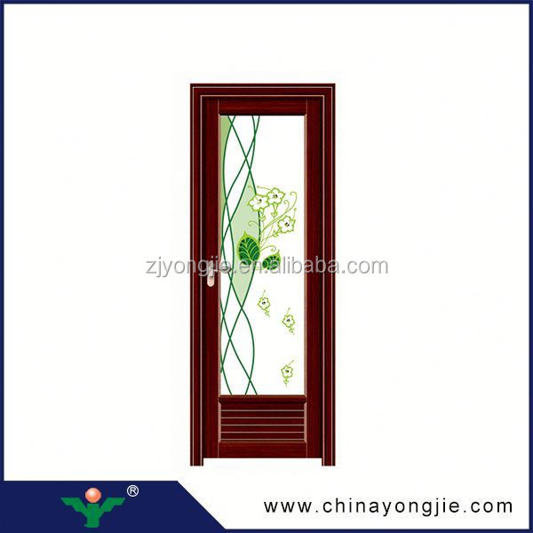 2015 new door design open style swing glass bathroom entry for Door design latest 2015