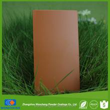 Semi Gloss Wood Yellow Powder Paint