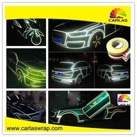 Carlas car body side sticker design with 3m reflective sticker paper