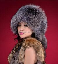 Free Shipping Warm winter hat 2014 imitation fox fur hat mink fur hat female winter hat leisure wild female models