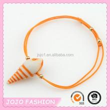 2015 new fashion wholesale ocean series conch bracelet for children