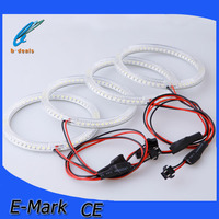 B-deals large amount export e30 e32 e34 e36 e38 e39 e46 e90 e53 e83 106mm 120mm 127.5mm 131mm 146mm 159mm led angel eyes for bmw