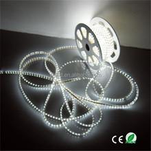 led flexible strip light ce rohs 5050 rgb 60led PVC waterproof cuttable led strip light 50m 8mm white PCB