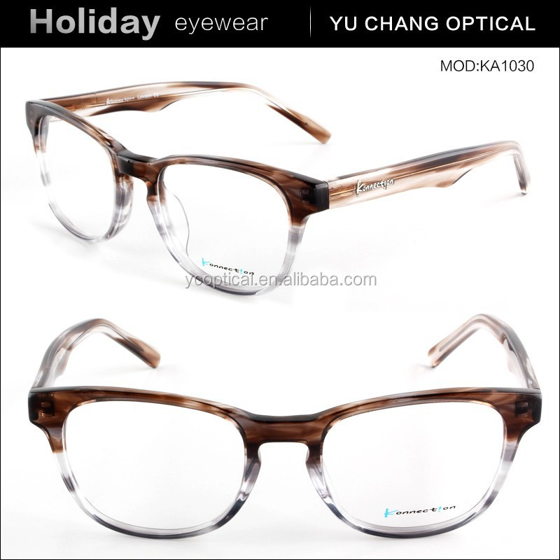 Eyeglasses Frame Manufacturers : 2015 New Design Fashion Acetate Eyewear Frame Optical ...