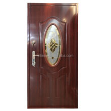 Intime steel security glass exterior metal safety door YT-WMC01 china suppliers
