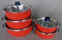die-casting aluminium pot with lid