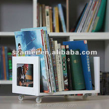 Customized clear acrylic book holder/ leather cheque book holder whlesale
