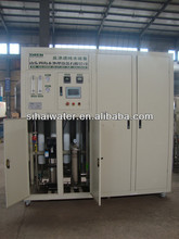 8T/H containerizer portable water treatment plant / system, portable water purifier with RO system