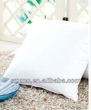White square cotton pillow case soft comfort hotel pillows