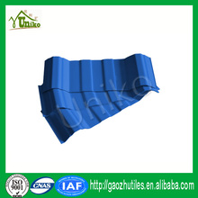 anti-corrosion easy installation light weight roofing tiles PVC corrugated roofing sheet for roofs