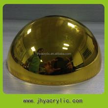 Fabrication en plastique moitié boule de massage / plastique balance ball