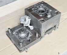 Aluminum die casting mould machanical turn parts aluminum alloy material and wire machine