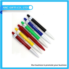 2015 New Design cheap ballpoint plastic pair ball pen parts