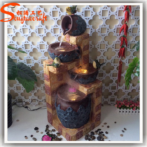 Decoration Craft Home Decoration Items Handmade Craft Artificial Waterfall Rock Home Decoration