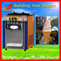 Table Top Soft Serve Ice Cream Machine, 18-20L/h, hot sell in USA, UK, etc