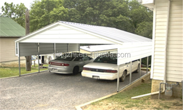 Metal Carport Kits Product : Metal shelter carport for two car kits sale