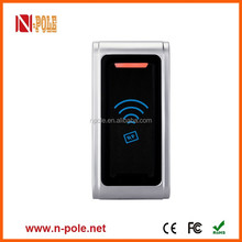 Metal hidrfid card reader for access control system