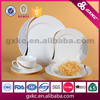 20pcs exotic household royal dishes table ware