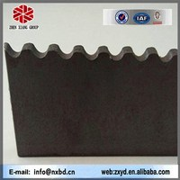 china high tensile strength steel carbon mild hot rolled steel serrated flat steel/straight tooth, helical tooth, trapezoid