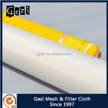 Gezi factory price ISO 100% polyester mono 80t 200mesh screenprint supply for textile screen printing