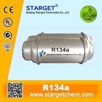 refrigerant R134a 99.9% purity 13.6kg/cylinder 30lb R134a refrigerant gas price