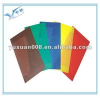 Colorful Clear PVC Book Cover with good price,plastic book cover YX-S822