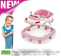 Rolling baby walker with high quality and competitive prices made in Zhejiang, China