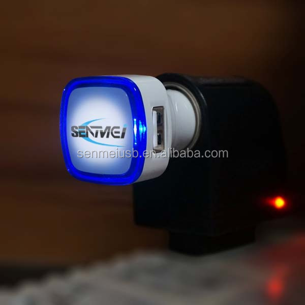 5V 2.1A micro usb car charger for iphone dual usb car charger