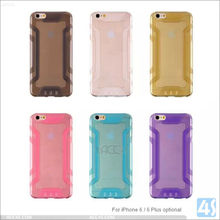 Factory Cheap Price Soft Shield TPU Cover for iPhone 6, For iPhone 6 TPU Cover Shield Case With Low MOQ
