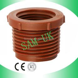 pp plastic reducer threaded pipe fitting for Tube Fittings