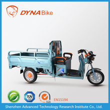 Powerful three wheel electric trike scooter for cargo
