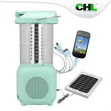 2015 Innovative CHL solar 112 led hurricane lantern for outdoor lighting