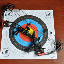 Topoint Archery Compound Bow T1,BLACK-RED color,right hand and left hand available