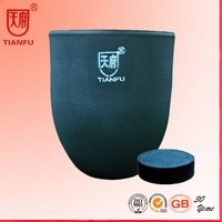 China Made Silicon Carbide Crucible For Aluminum/Copper Melting