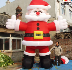 20ft 6m tall inflatable advertising promotion giant inflatable christmas man
