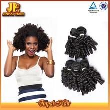 JP Hair Hot Selling Full Cutciles Afro Kinky Human Hair Bulk