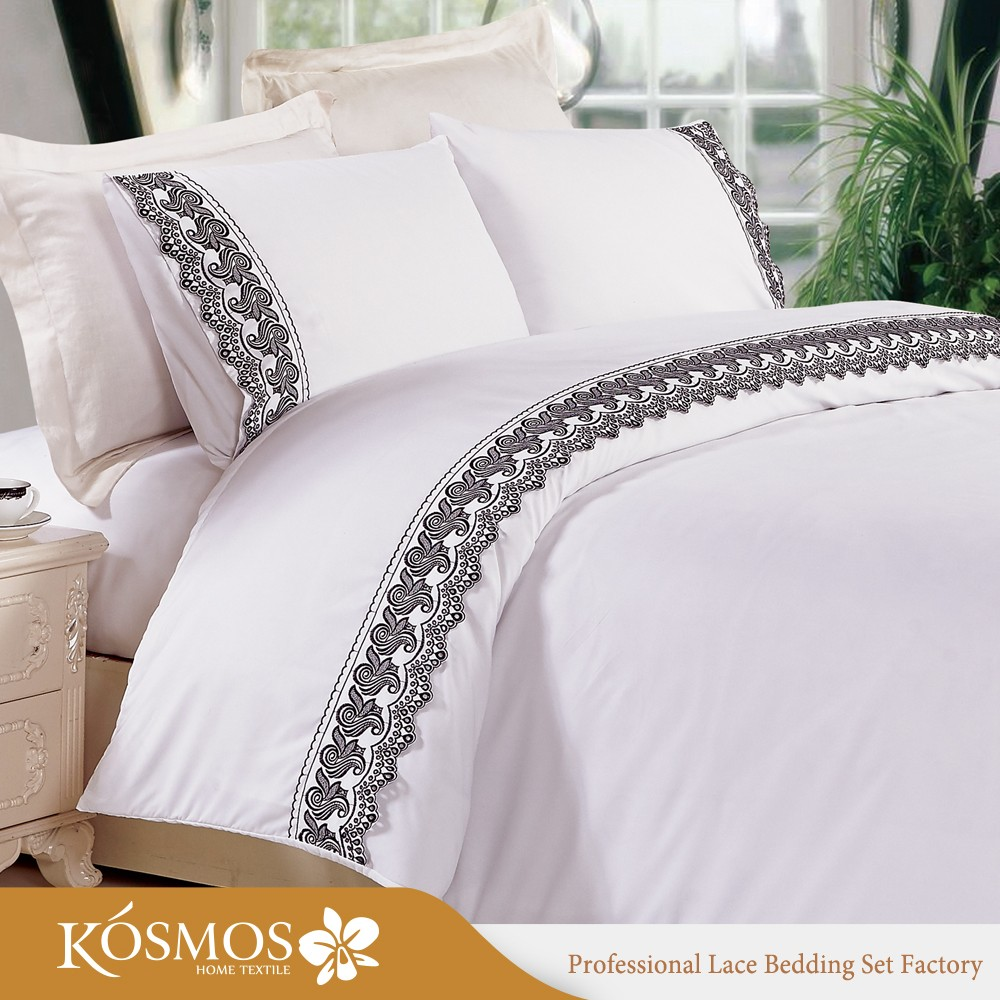Superior KOSMOS Bedding Polycotton Embroidery Design Bed Sheets Bedsheet Lace Bed  Sheet