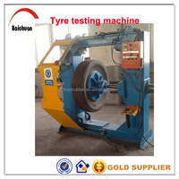 Tire pressure testing machine for used tyre retreading